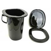 """Ведро-туалет """"Эконом"""" 17л (уп.10) М6355(пластик)"""