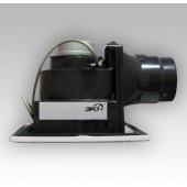 NVF 15,Вентилятор центробеж.вытяжной с обратным клапаном, фильтром, двигатель в защитном корпусеD125