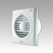 ERA 4S ETF, Вентилятор осевой вытяжной с антимоскитной сеткой, фототаймером D 100