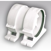 PRO 4, Вентилятор осевой канальный приточно-вытяжной с крепежным комплектом D 100
