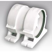 PRO 5, Вентилятор осевой канальный приточно-вытяжной с крепежным комплектом D 125
