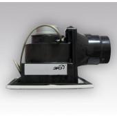 NVF 10,Вентилятор центробеж.вытяжной с обратным клапаном, фильтром, двигатель в защитном корпусеD100
