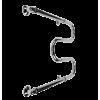 Полотенцесушитель нерж 60*50 М-обр (бесшовный)