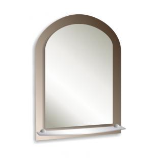 Зеркало с полкой 70х50см.(СОЛО)