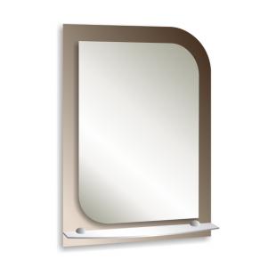 Зеркало с полкой 70х50см.(ЮНОНА)