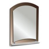 Зеркало с полкой 70х50см.(АРГО)